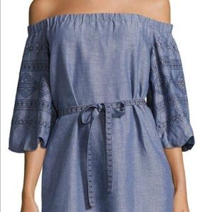 Laundry by Shelly Segull off shoulder dress